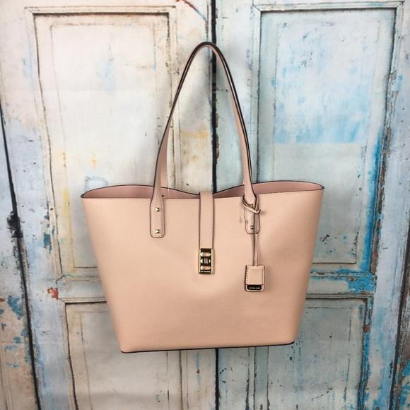 ca614c4be1df Michael Kors Bags | Karson Pastel Pink Carryall Tote P4 | Poshmark